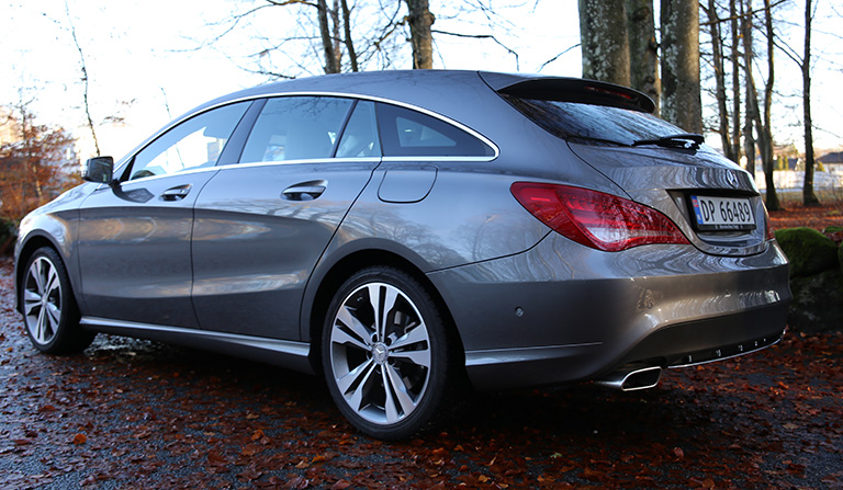 Mercedes-Benz CLA - Shooting Brake