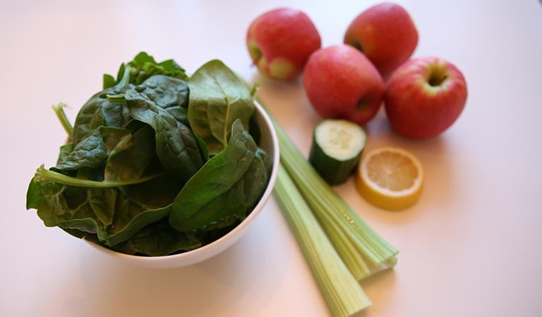 Ingredienser til juice.