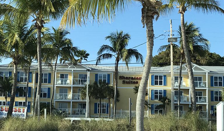 Sheraton Hotel, Key West.