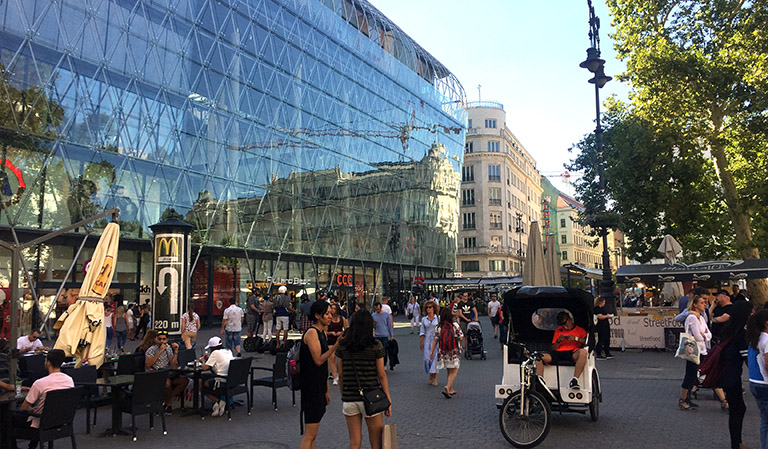 Budapest sentrum