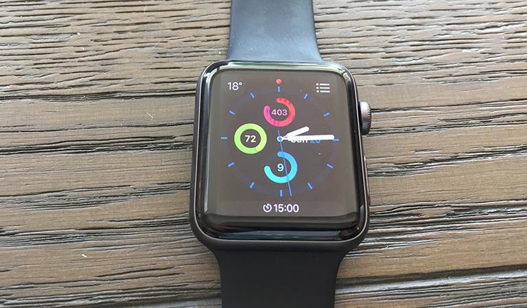 Apple klokke
